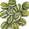 DRIED GREEN SPLIT LIMES WHOLE FRUIT - CHRISTMAS CRAFT WREATH FLORIST DECORATION