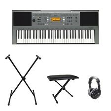 YAMAHA psre353 Keyboard w / BENCH, Stand & Cuffie