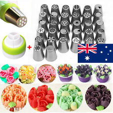 7/9/15/24/32/57Pcs DIY Russian Icing Piping Nozzle Cake Flower Decor Tips Tools