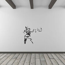 Banksy Musical Soldier Vinyl Wall Art Decal for Home Decor / Interior Design ...