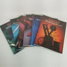 Singer Sewing Reference Library Lot of 6 Softcover Books Free Shipping