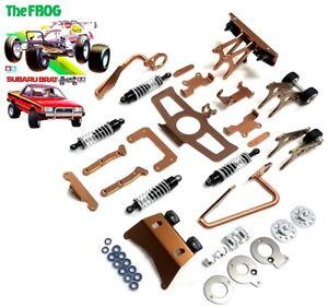 new Aluminum option parts/shocks/bumper  for TAMIYA 2WD Frog/Subaru Brat RC Car