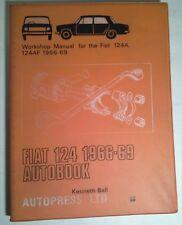 WORKSHOP MANUAL FOR FIAT 124A, 124AF 1966-69