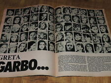 Ekran 12/1984 polish magazine Mathieu Carriere, Greta Garbo, Meryl Streep