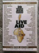 live aid limited edition dvd