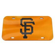 San Francisco Giants License Plate Mirrored Acrylic