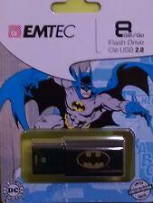 EMTEC 8 GB USB 2.0 Flash Drive, Batman New