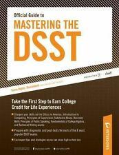 Mastering DSST by Peterson's Guides Staff and Drake Prometric (2010, Paperback,…