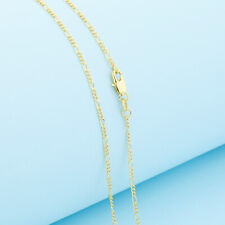 Wholesale 1PCS 16-30inch Wholesale Jewelry 18K GOLD FILL Figaro Chain Necklaces