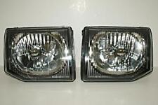 1998 2000 Mitsubishi Pajero Montero V33 Manual Headlights Front Lamps Pair