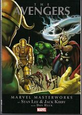 MARVEL MASTERWORKS AVENGERS VOL 1 SOFTCVR GN TPB COLLECTS SILVER AGE #1-10 NEW