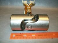 "Universal Joint 2 1/2"" OD 1 1/4"" Bore Overall Length 5"" Keyway 3/8"""