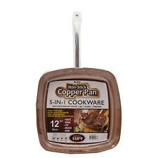 """Copper Square Pan 12"""" Non Stick"""
