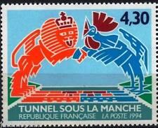 Y&T n° 2882 de 1994 Inauguration du tunnel sous la manche    NEUF **