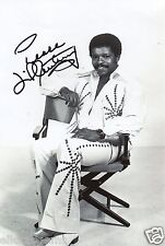 """Jerome Anthony """"Little Anthony"""" Tears on My Pillow Hand Signed Photo 12x8"""" D"""