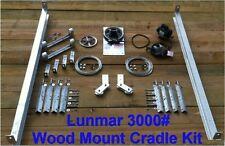 Lunmar 3000# Cradle Kit Wood Mount