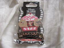 Disney Trading Pins 94865: DSF- Ice Cream Train- Peg, Pedro, & Bull