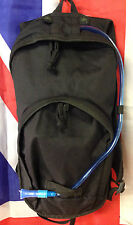 NEW Tactical Black 10L Hydration / Day Pack with 1.5L Bladder by Web-Tex