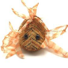 "Plush Gunz Funky Fish Stuffed Animal Toy Sheer Fabric Fins 8.5"" Long"