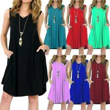 Plus Size Womens Floral Baggy Tunic Dress Summer Short Sleeve Tops Kaftans Magic