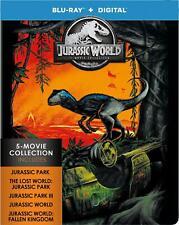 🍿 Jurassic World: 5-Movie Collection Blu-ray STEELBOOK (park fallen kingdom)🍿