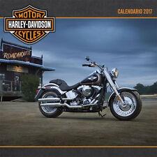 Harley Davidson Motor Cycles Calendar 2017 Spanish Calendario Motocicletas New
