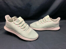 Adidas Tubular Shadow J Casual Sneakers Mesh Green Light Green Girls Size 7 NEW!