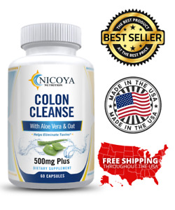 Natural Colon Herbal Cleanse, Detox, Energy Boost, Diet & Weight Loss Pills
