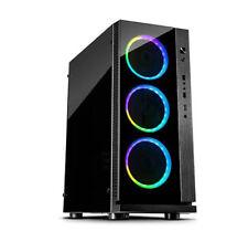 Inter-Tech W-iii RGB Gaming Gehäuse PC Case Midi Tower