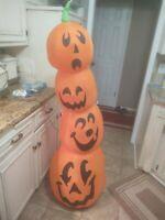 Gemmy 5-ft Inflatable Pumpkin