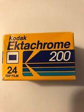 VINTAGE Kodak Ektachrome  200 color film - 24 exposures 35mm Daylight