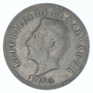 1956 El Salvador 5 Centavos - TC *621