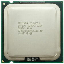 Intel Core 2 Quad Q9650 SLB8W CPU Processor 1333 MHz 3 GHz LGA 775/Socket T