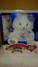 Swarovski 2007 Care Bears 25th Anniversary Silver Collectionw/dvd New in box