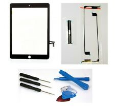 iPad Air HQ Touchscreen Digitizer Glas Display Schwarz für Apple iPad 5+Werkzeug