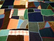 Vintage Crazy Quilt Top  Repair, Cutter, or Display