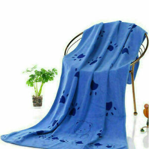 Super Absorbent Pet Bath Towel Microfiber Quick Drying Towel for Dogs and Cats