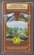 Aspects Of Western Steam (VHS) Railway Video Tape ~ Transport Video Publishing