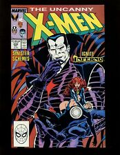 X-Men #239 VF Silvestri Green Mr Sinister Goblin Queen (Madelyne Pryor) Inferno
