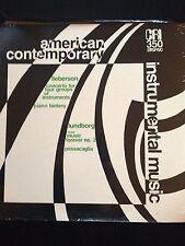 2Oth C Modern Music: CRI SD 35O Liberson, Lundborg Great Cover Still Sealed