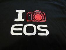 Canon EOS Camera  T Shirt XL