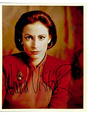 Star Trek Deep Space Nine hand signed 8X10 Nana Visitor Kira Nerys Autograph Ds9
