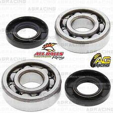 All Balls Crank Shaft Mains Bearings & Seals Kit For Kawasaki KDX 80 1982