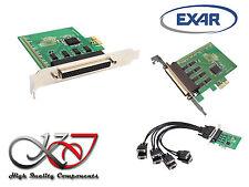 Carte PCIE SERIE RS232 - 8 PORTS UART COM DB9 SUR PIEUVRE - EXAR XR17V358