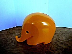 DUMBO kleiner Colani Dresdner Bank Spardose Elefant, Gr.ca.6cm,gelb,neu/neuwert.