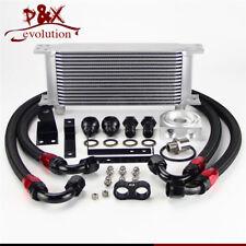 For Honda S2000 AP1 AP2 00-04 F20C 2.0L 05-09 F22C 16 Row Bolt On Oil Cooler Kit