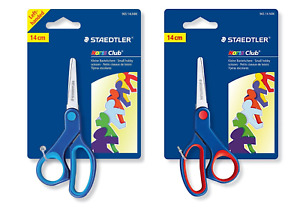 STAEDTLER Noris Club Scissors 14cm Hobby & Craft LEFT & RIGHT HANDED *UK SELLER*