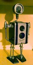 """11.5"""" Statuetta personalizzato: fotocamera Bot: VINTAGE KODAK: COPERTA: industriale: Unique costruire"""