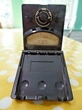 Vtg General Electric 1293391 Ac Volts Meter 150 600 Volt Type Bakelite Works