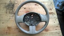 GENUINE FIAT 500 2008-2015 STEERING WHEEL IN CREAM + CONTROLS BUTTONS ~